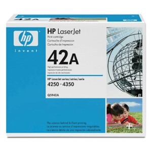 Toner HP black 42A