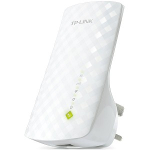 AC750 Dual Band Wireless Wall Plugged Range Extender Mediatek 433Mbps at 5GHz