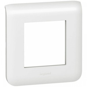Plate Mosaic - 2 modules - white