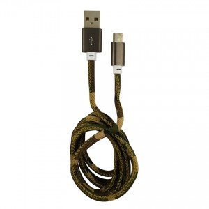 USB to Type-C cable cam. green