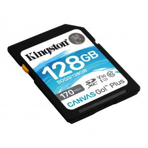 Kingston SD 128GB CanvasGoPlus