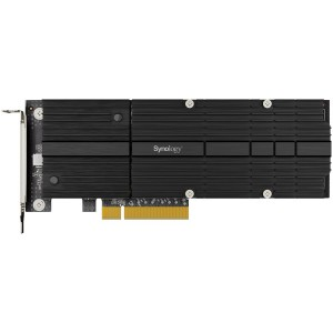 Synology M2D20 Dual-slot M.2 SSD adapter card for cache acceleration; PCIe 3.0 x8; PCIe NVMe;