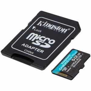 Kingston 512GB microSDXC Canvas Go Plus 170R A2 U3 V30 Card + ADP EAN: 740617301328